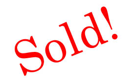 Graphic of Sold