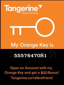Photo of Tangerine Orange Key Box