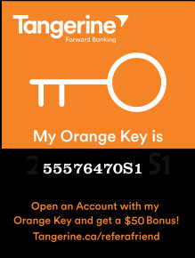 Image of Tangerine Orange Key Ad